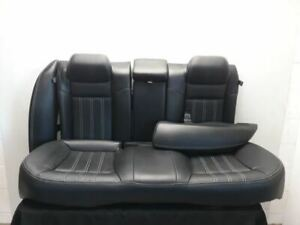 2015 Chrysler 300 S Rear Seat Assembly Black Leather Oem