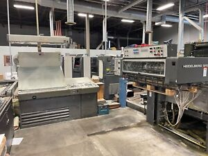 Heidelberg 102fpp 5 Color Printing Press