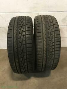 2x P205 50r17 Sumitomo Htr As P02 8 32 Used Tires