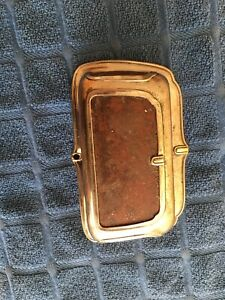 Vintage 1920 s 1930 s Car Ashtray Art Deco Original Rat Rod Mopar Cadillac Buick