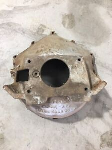 Vintage Wedge Chevy V8 Bbc Sbc Scatter Shield Blowup Proof Bell Housing