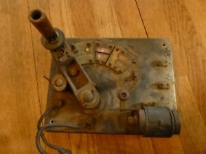 Large Antique Industrial Electrical Switch