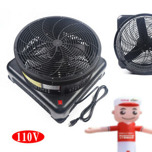 750w Inflatable Air Blower Fan 400pa For Outdoor Dancer Wind Tube Man Puppet Us
