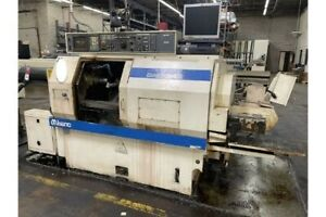 Miyano Bnd 34s Cnc Lathe With Live Tooling subspindle Fanuc Ot Control