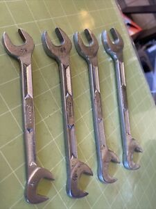 Snap On Tools 4 Piece Sae 4 Way Angle Head Wrench Set 5 8 3 4 13 16 7 8