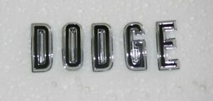New 1967 Dodge Charger coronet Hood Letters