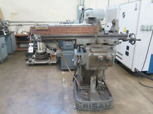 Cervinia Misal 25t Horizontal Universal Mill 40 Spindal Taper Power Feed