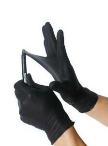 Black Nitrile Gloves Extremely Durable s M L Xl Powder Free Exam 50 1000 Pcs