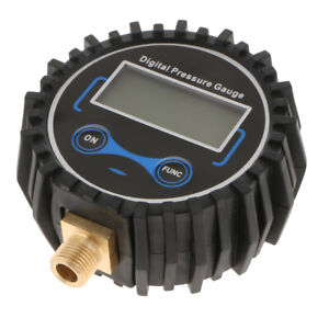 Air Tire Inflator With High Accurate Digital Pressure Gauge 200 Psi Black