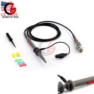 Oscilloscope Scope Cable Kit Probe Clip Probes P6020 20mhz For Tektronix Hp