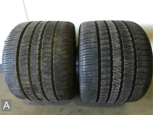 2x P245 45r18 Goodyear Eagle Rs a 7 8 32 Used Tires