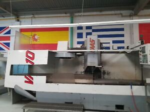 1998 Haas Vf 10 50 Vertical Machining Center With Hrt310 Rotary Table Stock 7949