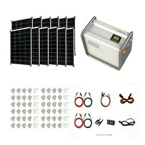Complete kits Hysolis 3KW Solar Generator 4.5 KWh lithium battery 1.2KW PV Power $4799.00