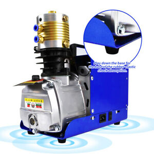 30mpa High Pressure Air Compressor Pump Autoshut Preset 4500psi Pcp Airgun us