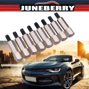 Chrome Valve Cover Bolt Set Small Block Fits Ford 289 302 351w Sbf 12pc set