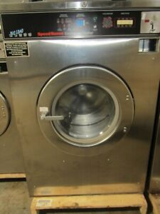 Speed Queen 50lb Washer Sc50md2 3 Phase 208 240 Volt