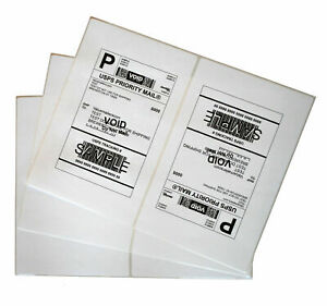 Labels 8 5x5 5 2000 Shipping 8 5x5 5 Half sheet Self Adhesive Vm Brand Labels