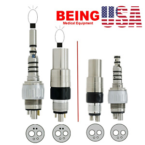 Being Dental Led Coupling 6 Pin Kavo Nsk Style 4 Holes For High Speed Handpiece