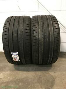 2x P315 35r20 Michelin Pilot Sport 4 No 9 32 Used Tires