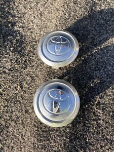 Toyota Camry Rav4 Corolla Sienna Wheel Rim Hubcap Hub Cap Center Oem Set Of 2