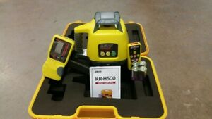 New Self leveling Rotary Laser Level Koiss Kr h500 Detector receiver Remote