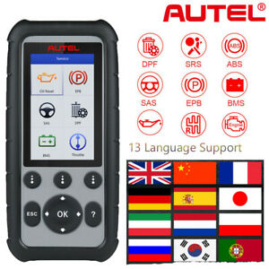 Autel Maxidiag Md806 Pro Md806 Obd2 Car Diagnostic Scanner Tool Abs Srs Dpf