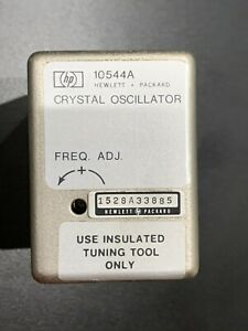 Agilent hp 10544a Crystal Oscillator 10 Mhz Tested Accurate And Stable