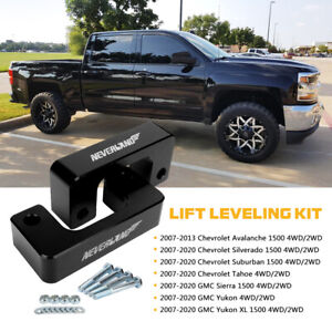 2 Front Leveling Lift Kit For 2007 2020 Chevy Silverado Gmc Sierra 1500 4wd 2wd