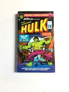 The Incredible Hulk #2 Marvel Comics Stan Lee Pocket PB 1979 Full Color C1R1 $11.99
