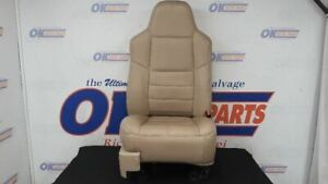 2008 09 10 F250 F350 Super Duty Lariat Passenger Right Front Seat Bucket Tan