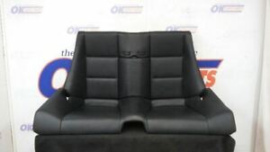 03 Bmw M3 E46 Convertible Oem Rear Seat Assembly Black Leather