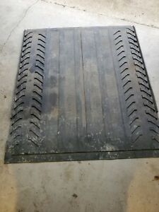 02 13 Chevy Avalanche Ext Rear Bed Rubber Cargo Mat Liner Oem Ht1021