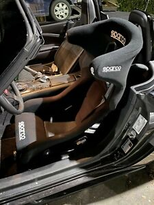 Sparco Circuit Racing Bucket Seat With Halo