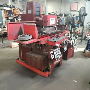 Nagase W6 12 X 24 Automatic Hydraulic Surface Grinder W dust Collector
