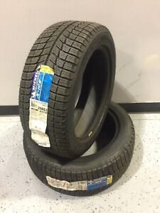 New Old Stock 2 Tires Michelin X ice Xi3 P225 50r17 Winter Tires