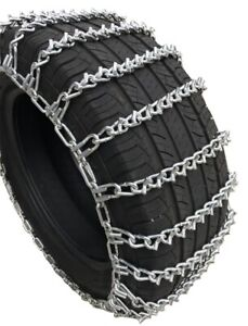Snow Chains 265 75r 16 265 75 16 Lt V bar 2 link Tire Chains Set Of 2