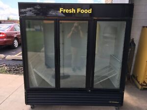 Cooler Refrigerator Merchandiser Display True Gdm 72 Rich in 3 Glass Doors