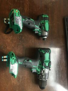 Metabo 36v Brushless Hammer Drill Dv 36da And Wh36db Cordless Impact Bare Tools