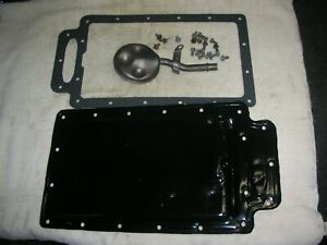 Corvair All Year Oil Pan Pick Up New Oil Pan Gasket Pan Very Good 19 Bolts