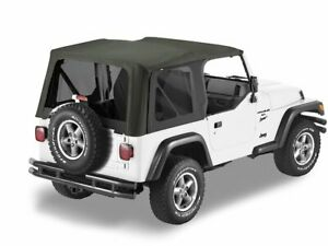 Soft Top For 1997 2002 Jeep Wrangler 1998 1999 2000 2001 Y613mn