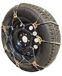 Snow Chains 225 40 18 225 40 18 A1034 Diagonal Cable Tire Chains Set Of 2