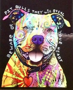 Pit Bull Decal Sticker Dogs