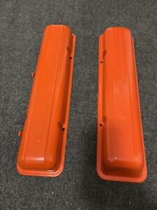 Gm 1960 67 Small Block Chevy Sbc 283 327 Chevrolet Script Valve Covers