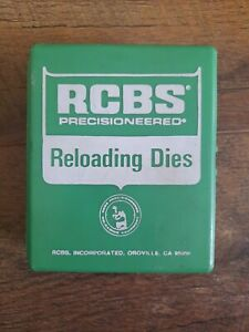 Vintage RCBS Reloading 3 Die Made in USA $55.00