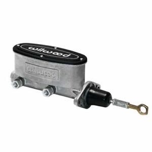 Wilwood 260 14157 Aluminum Tandem Master Cylinder For Mustang New