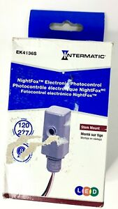 Intermatic Electronic Photo Control Stem Mount Ek4136s Grade Fixed