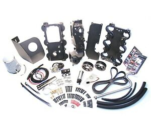 2001 2002 2003 Ford Ranger b4000 Supercharger Install Kit Moddbox W extra Pulley