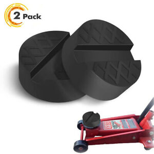 2 Pack Universal Jack Padrubber Jack Stand Pads Adapter For Car Jack