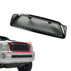 Front Center Bumper Grill Grille Steel Mesh Fit For Toyota Tacoma 2005 2011