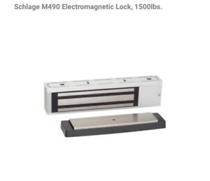 Schlage M490 Electromagnetic Lock brand New 1500lbs
